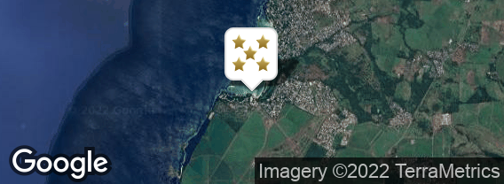 Localisation de l'hôtel Club Med La Plantation d'Albion