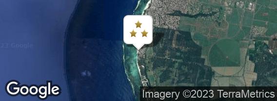 Localisation de l'hôtel Pearle Beach Resort & Spa