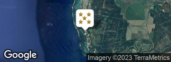 Localisation de l'hôtel Sugar Beach Golf & Spa Resort