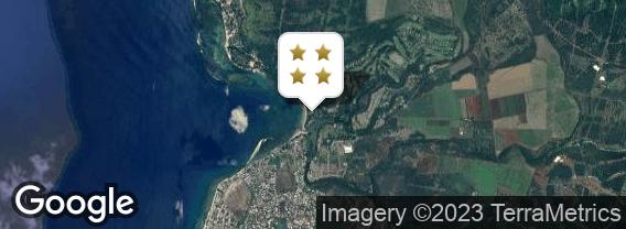 Localisation de l'hôtel Tamarina Golf & Spa Boutique Hotel
