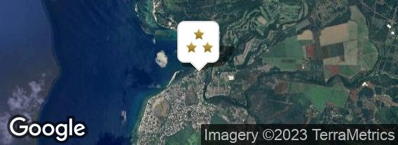 Localisation de l'hôtel Tamarin