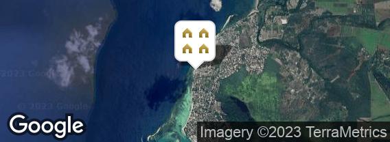 Localisation de la résidence Léora Beach