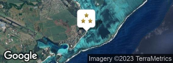 Localisation de l'hôtel Astroea Beach