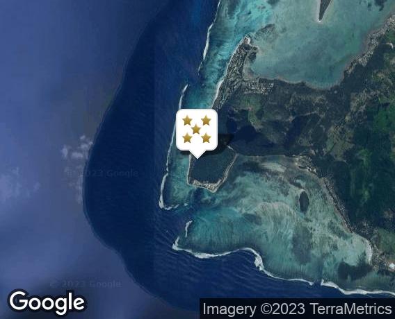Localisation de l'hôtel The St. Regis Mauritius Resort