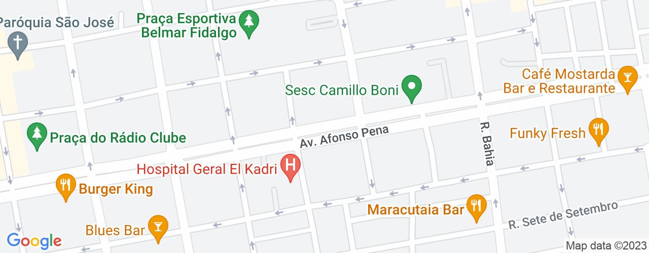 Avenida Afonso Pena, 3297 - Centro, Campo Grande - MS, Brasil