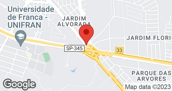 Av. Paulo VI, 3000 Bairro Jardim Alvorada, Franca, SP