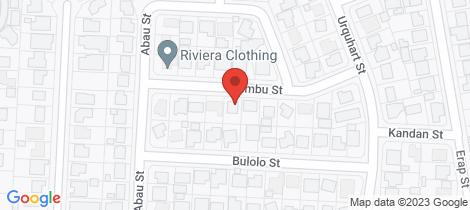 Location map for 9 Chimbu Street Mount Isa