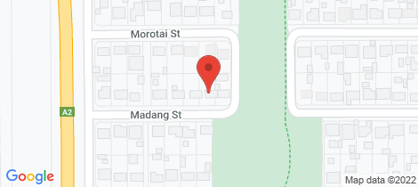 Location map for 14 Madang Street Mount Isa