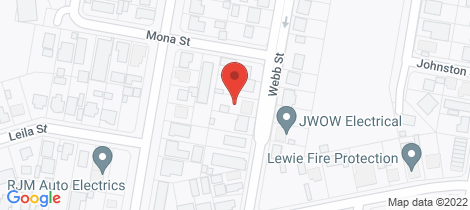 Location map for 119 Webb Street Mount Isa