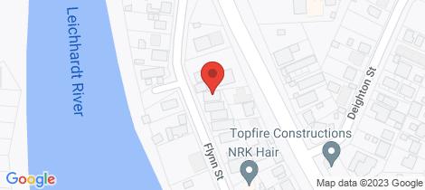 Location map for 36 Flynn Street Mount Isa