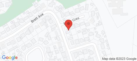 Location map for 33 Brett Avenue Mount Isa