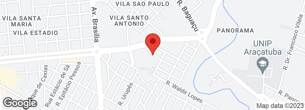 Rua José Dionísio, 44 Pq Baguaçu, Araçatuba, SP