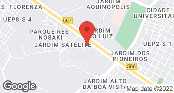 Av. Joaquim Constantino, 2871 Bairro São Luis, Presidente Prudente, SP