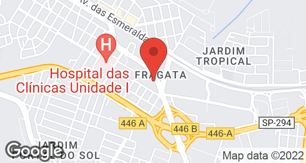 Av. Tiradentes, 1360 Bairro Fragata, Marília, SP