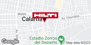 Obtener indicaciones para Tienda Hilti Calama