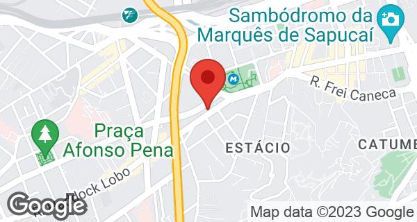 R. Haddock Lobo, 40 Bairro Estácio, Rio de Janeiro, RJ