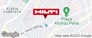 Get directions to Hilti Center Rio de Janeiro
