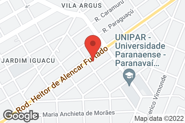 Av. Deputado Heitor Alencar Furtado, 6420 Jardim Santos Dumont, Paranavaí, PR