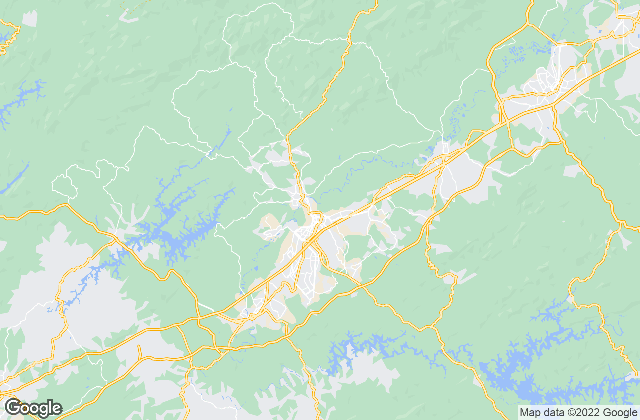 Google Map of ساو خوسيه دوس كامبوس