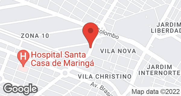 Av. Tuiuti, 445 Bairro Vila Nova, Maringá, PR