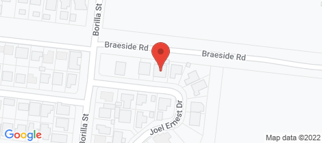 Location map for 7 Joel Ernest Drive Emerald