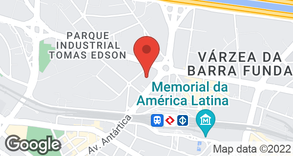 Avenida Antártica, 62 Jardim Industrial Tomas Edson, São Paulo, SP