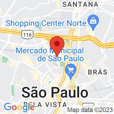Map showing Béni Café