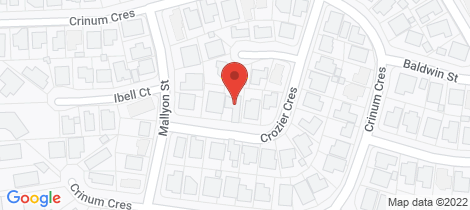 Location map for 5 Crozier Crescent Emerald