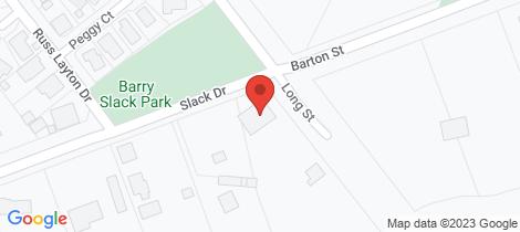 Location map for 4 Slack Drive Emerald