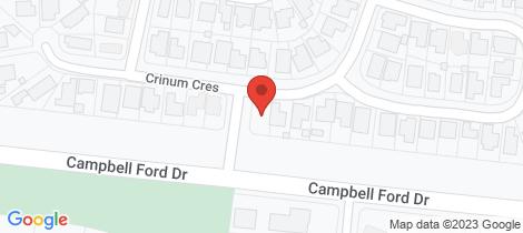Location map for 26 Crinum Crescent Emerald