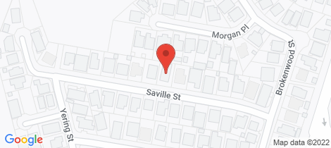 Location map for 15 Saville Street Emerald