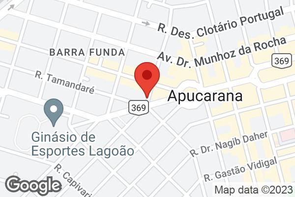 Rua Guarapuava, 316 Centro, Apucarana, PR