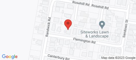 Location map for 19 Flemington Road Emerald