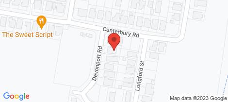 Location map for 4 Devonport Road Emerald