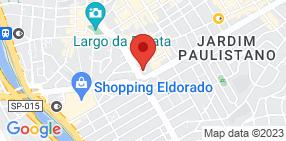 Mapa do endereço da a|CF