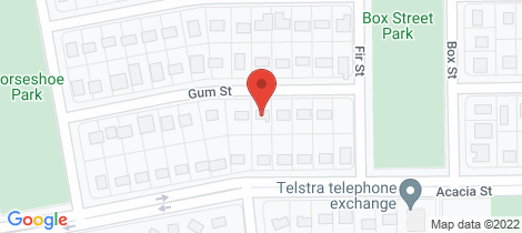 Location map for 17 Gum Street Blackwater