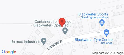 Location map for Lot 12 Littlefield Street Blackwater