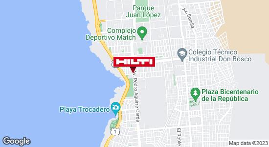 Obtener indicaciones para Tienda Hilti Antofagasta