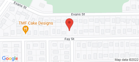 Location map for 29 Fay Street Blackwater