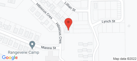 Location map for 68 Hibiscus Crescent Blackwater