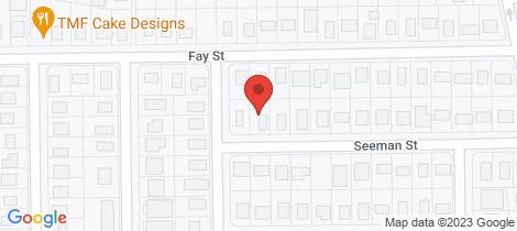 Location map for 25 Seeman Street Blackwater