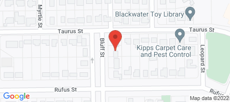 Location map for 12 Bluff Street Blackwater