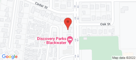 Location map for 68 Littlefield Street Blackwater