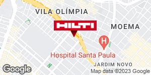 Get directions to Hilti Center São Paulo