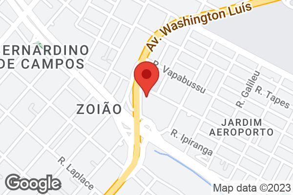 Av. Washington Luiz, 5320 Bairro Aeroporto, São Paulo, SP