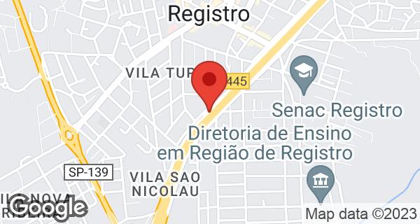 Av. Pres Castelo Branco, 1671 Ribeirópolis, Registro, SP
