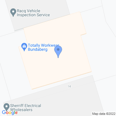Totally Workwear Bundaberg 1/12 Toonburra Street , BUNDABERG EAST, QLD 4670, AU