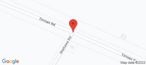 Location map for 77 Watawa Road Tirroan