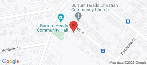 Location map for 47 Howard Street Burrum Heads