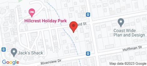 Location map for 7 Howard Street Burrum Heads